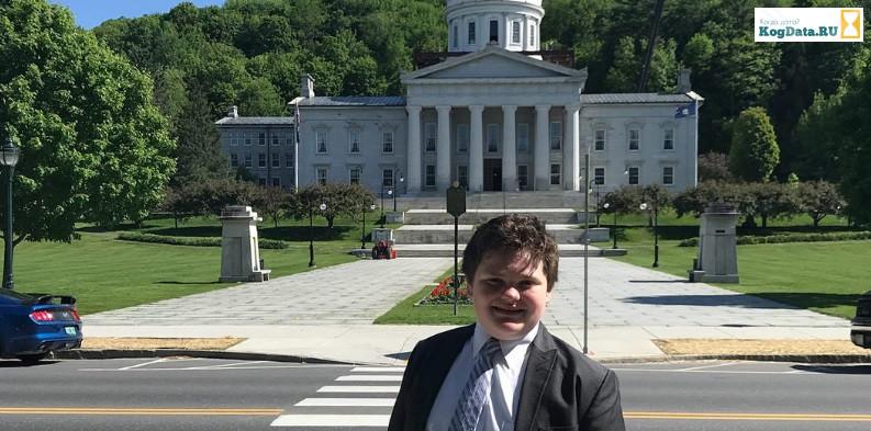 14-летний подросток баллотируется на пост губернатора Вермонта