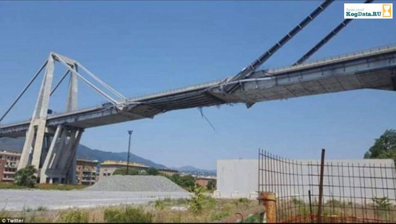 Италия в ужасе — автомобильный мост Обрушился в Генуе