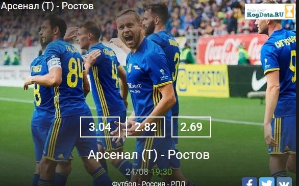 Ростов Арсенал 24 августа 2018 где смотреть на каком канале Матч Премьер