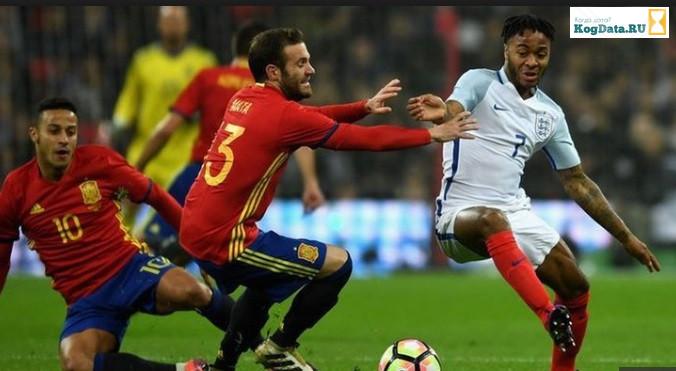 Англия Испания 08.09.2018 смотреть онлайн футбол
