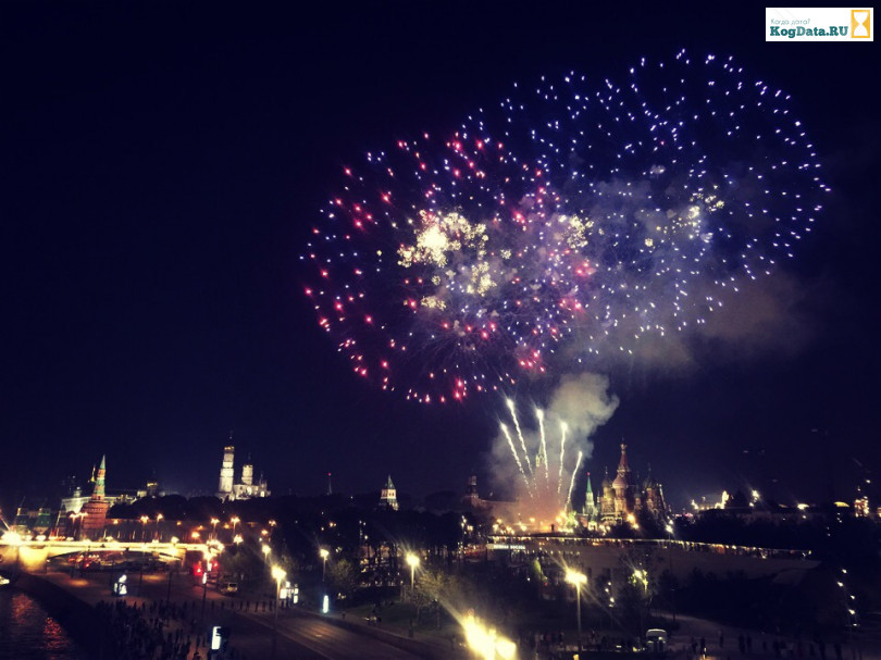 День Москвы 8 сентября 2018 салют