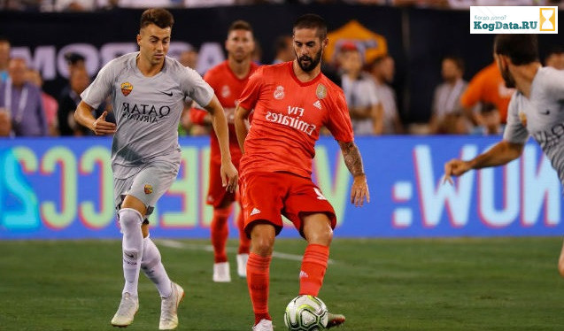 Реал Мадрид Рома 19.09.2018 прямая трансляция