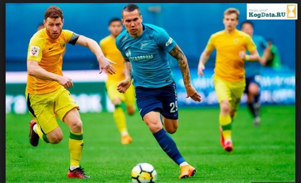 Анжи Зенит 30.09.2018 смотреть онлайн футбол