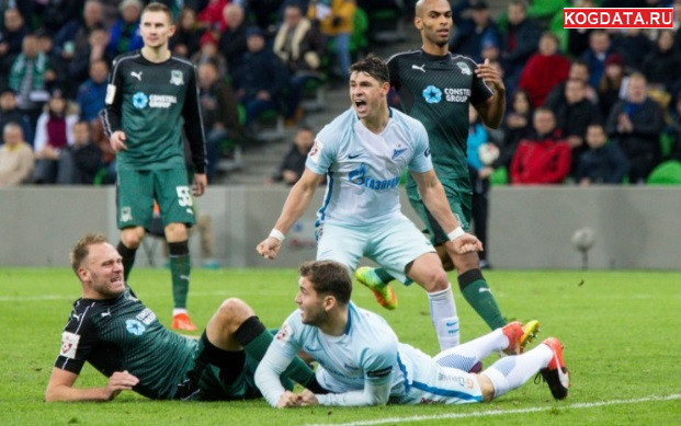 Зенит Краснодар 07.10.2018 смотреть онлайн футбол