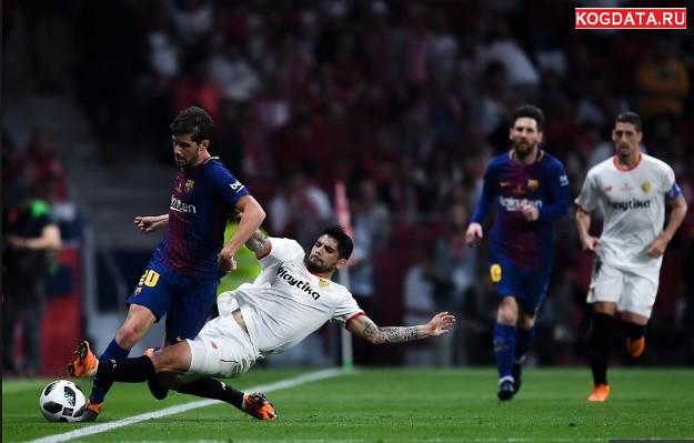 Барселона Севілья 20 10 18 пряма трансляція онлайн 20 жовтня 2018