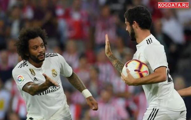 Реал Мадрид Виктория 23 октября 2018 Матч Игра онлайн трансляция