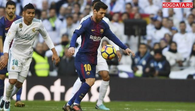 Барселона Реал Мадрид 28 октября 2018 — где смотреть, какой канал