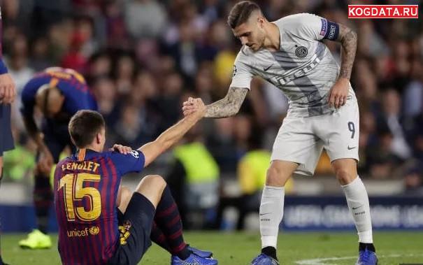 Интер Барселона 06.11.2018 онлайн трансляция