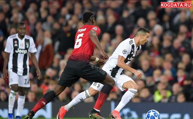 Юве МЮ 07.11 18 (7 ноября) онлайн трансляция Ювентус Манчестер Юнайтед