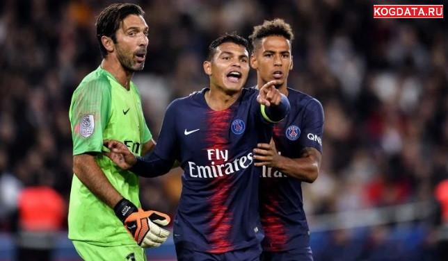 Монако ПСЖ 11.11.2018 смотреть онлайн футбол