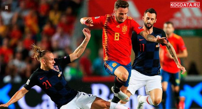 Хорватия Испания 15.11.2018 смотреть онлайн футбол