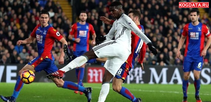 Манчестер Юнайтед Кристал Палас 24.11.2018 смотреть онлайн футбол