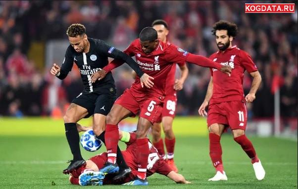 Лига чемпионов футбол ПСЖ Ливерпуль 28 ноября 2018 прогноз, статистика