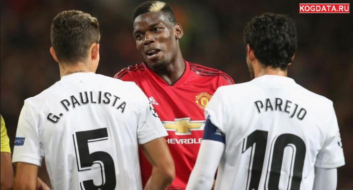 Валенсия Манчестер Юнайтед 12.12.2018 смотреть онлайн футбол
