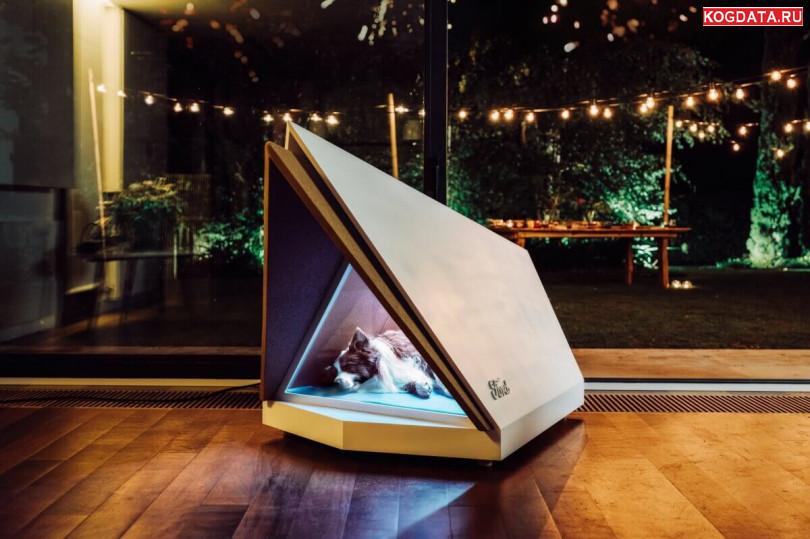 Компания Ford создала будку для собак, которая поглощает шум