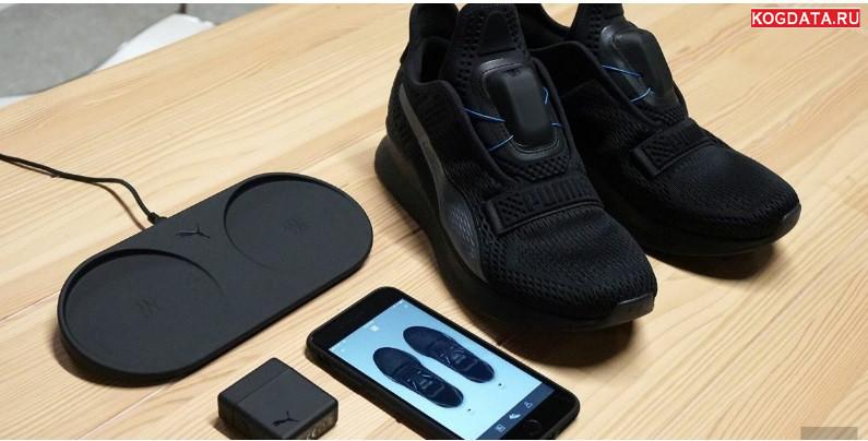 Puma вслед за Nike представила кроссовки с автоматическими шнурками